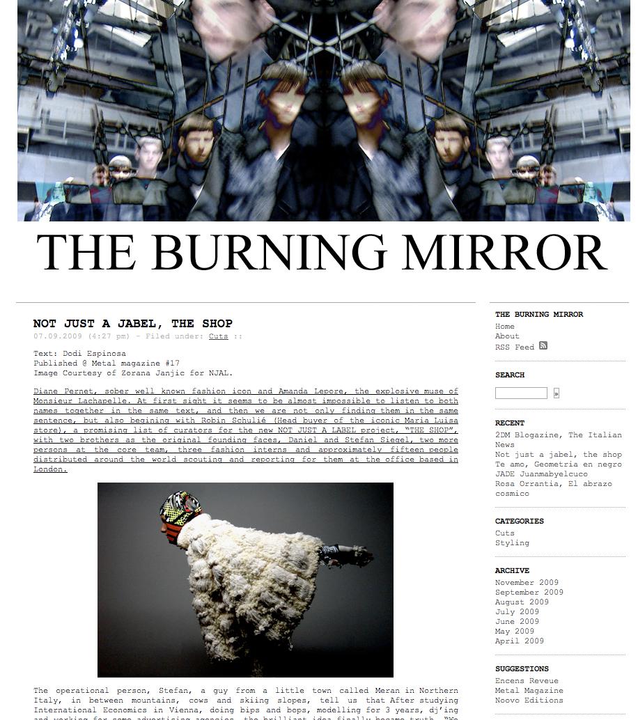 theburningmirror