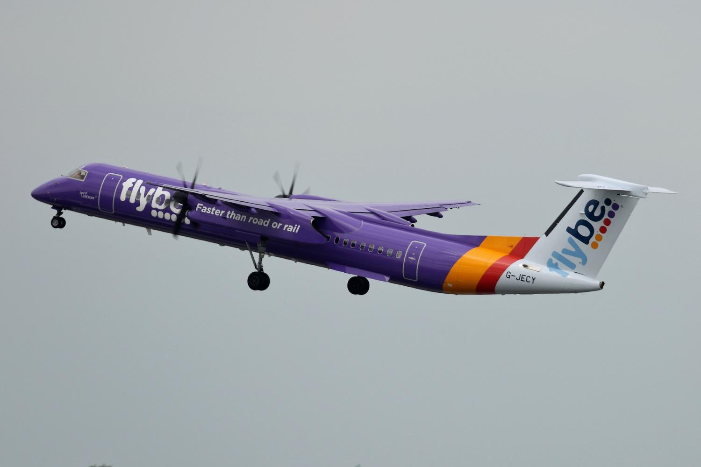 Flybe Dash 8 Q400
