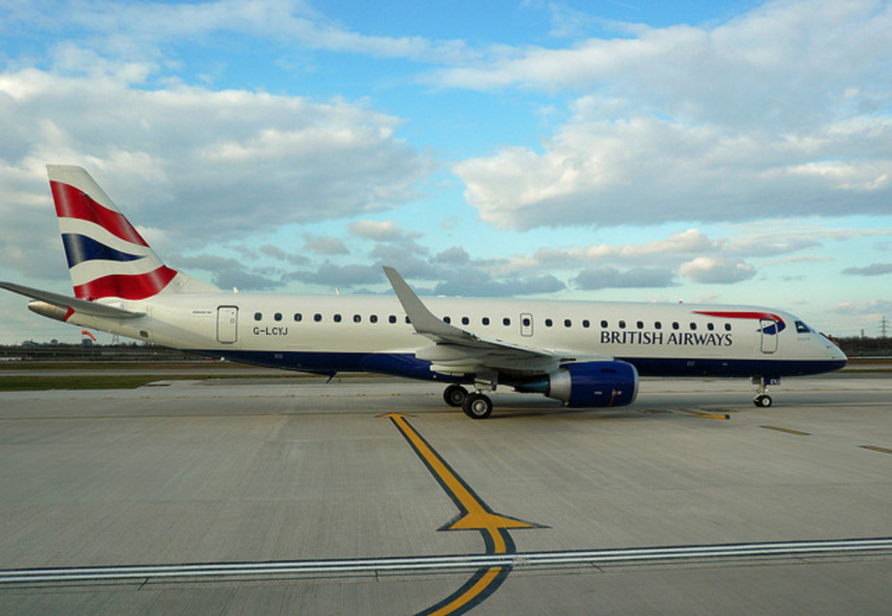 BA Embraer E190