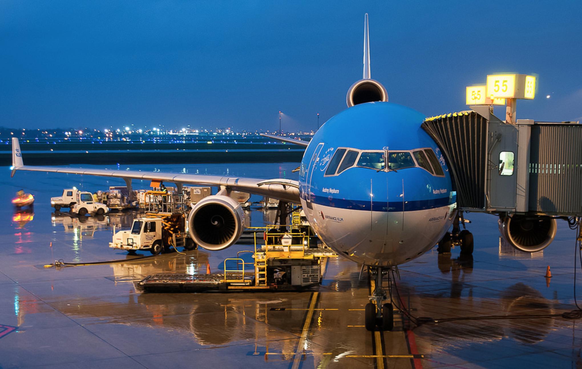 KLM's last MD-11: PH-KCE 'Audrey Hepburn'