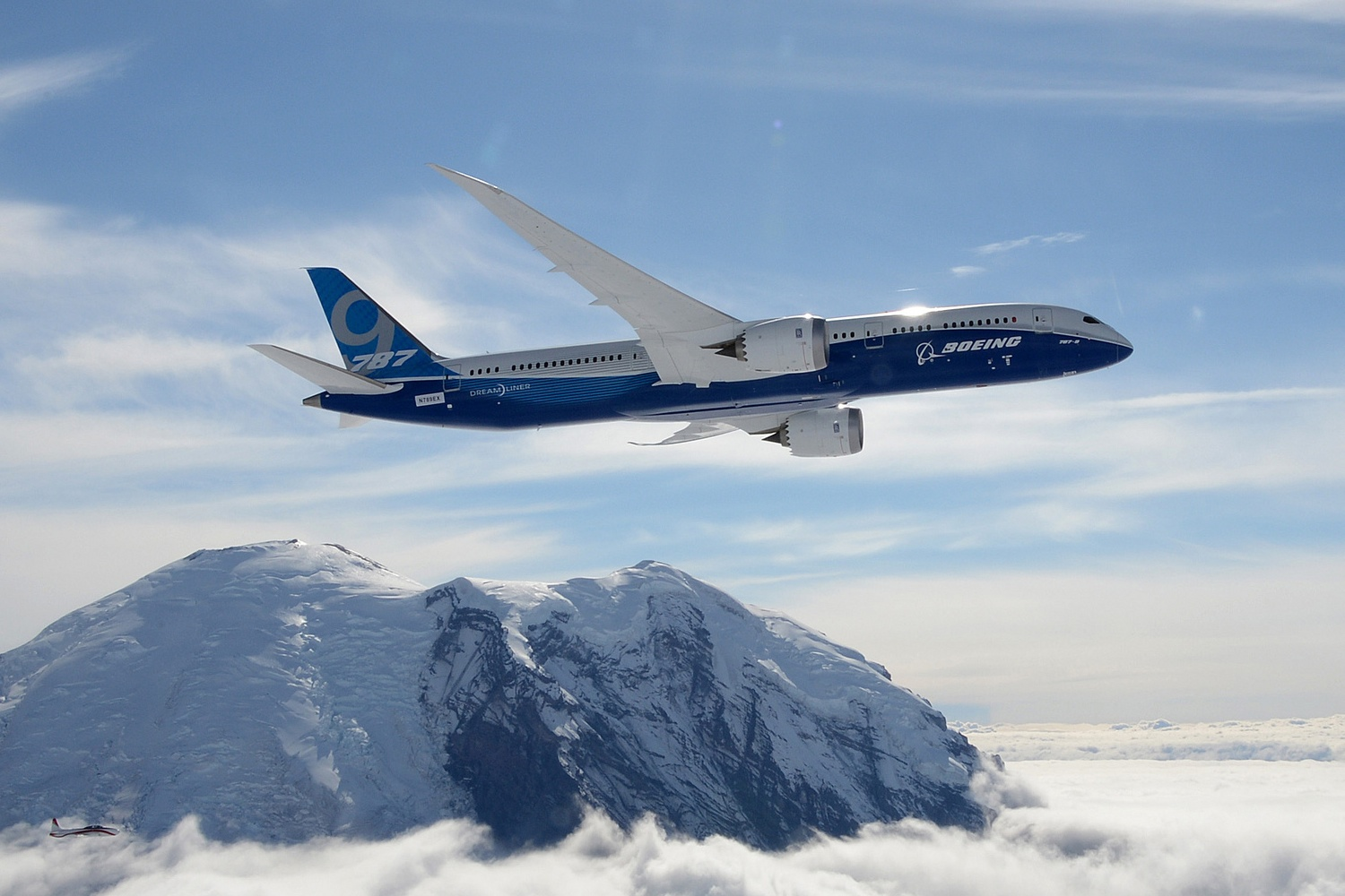 The latest generation of airliners, such asthe Boeing 787 (pictured above) and the Airbus A350, rely heavily on automation.
