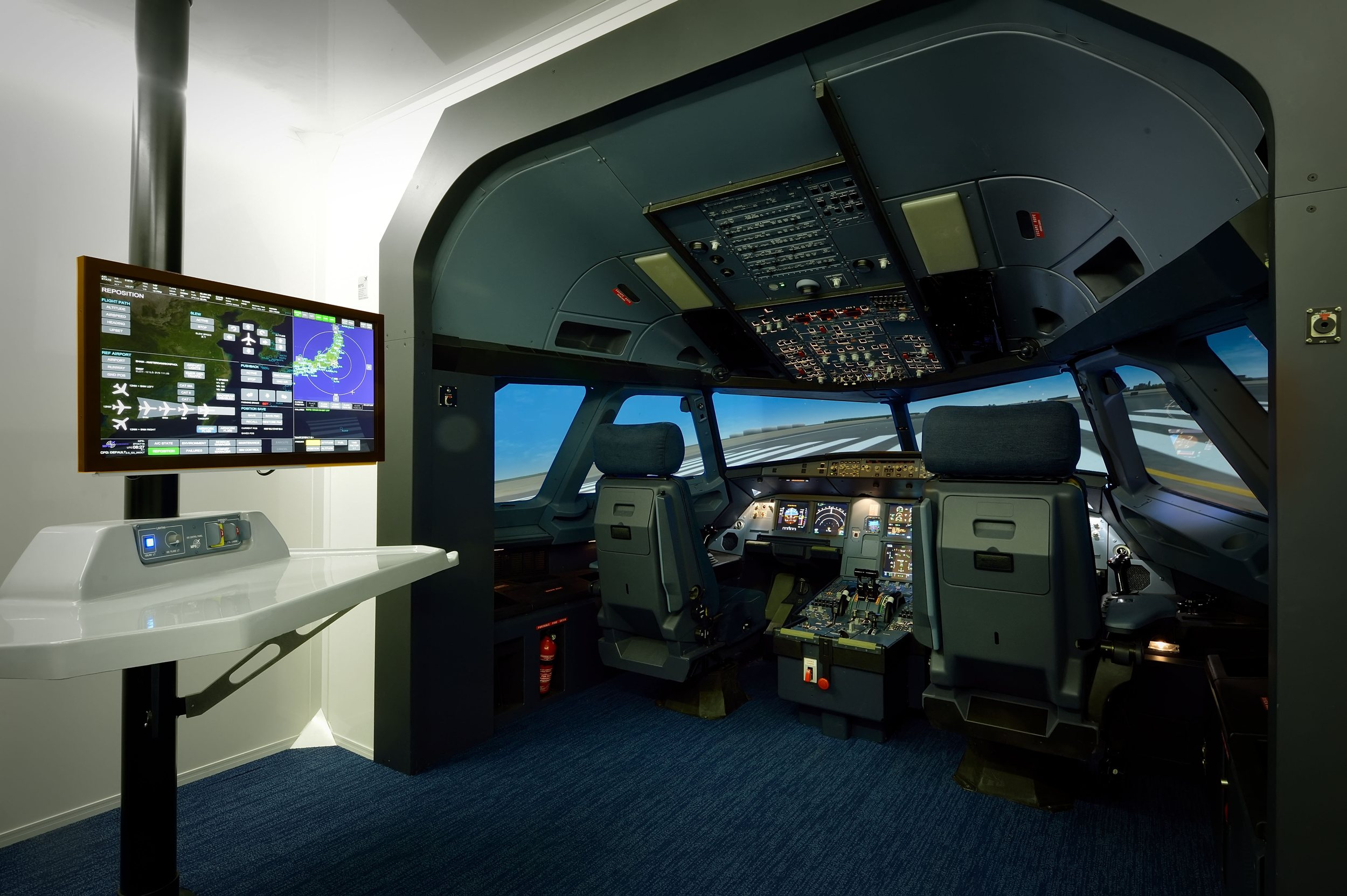 A320 flight simulator