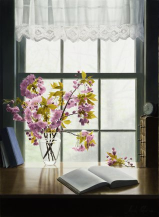 """A Promise of Spring 38""""Hx28""""W"""