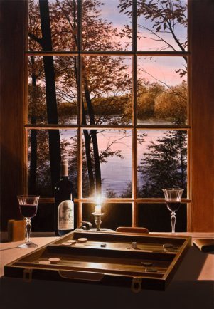"""Evening for Two 38""""Hx26""""W"""