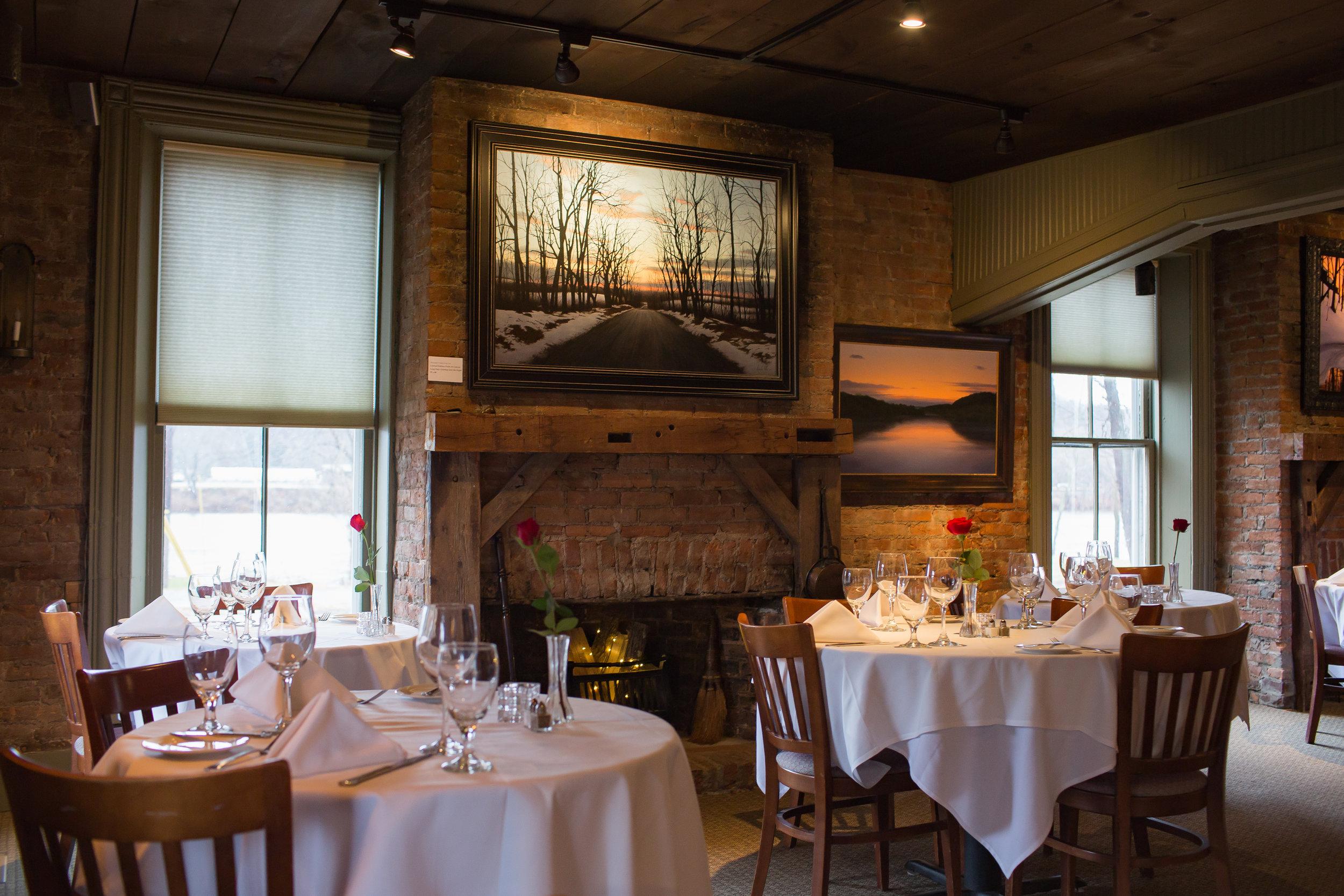 Brick Dining Room