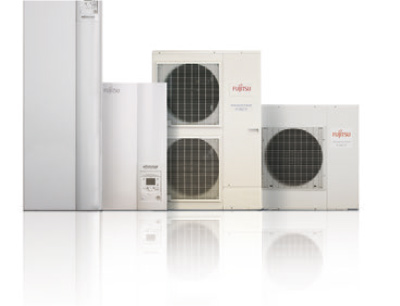 Fujitsu vesi-ilmalämpöpumppu | Kyltec myy ja huoltaa Fujitsu ilma-vesilämpöpumput