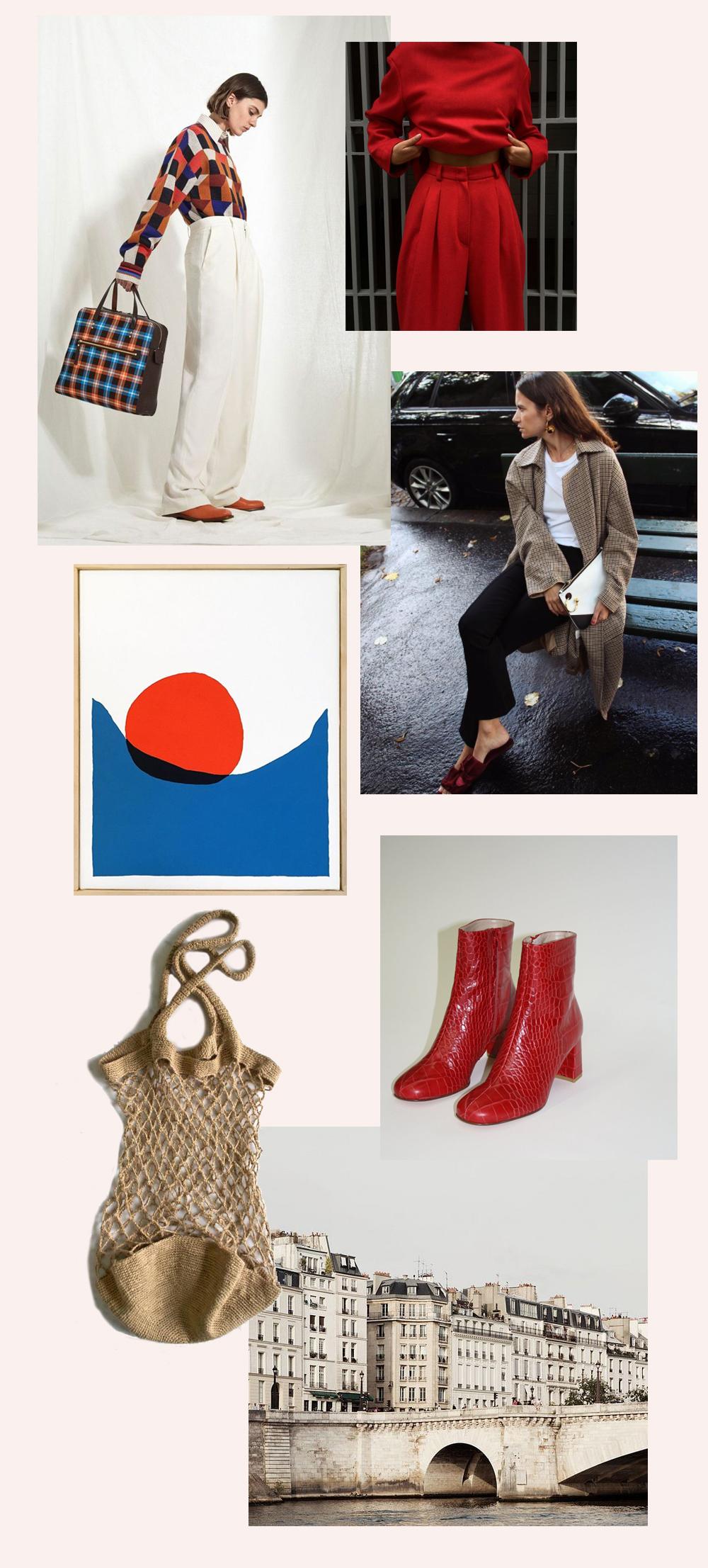 1. Joseph Resort in   Vogue  , 2.   @polozova  , 3. Paul Kremer, Float 5, 4.   @lifeofboheme  , 5.   Lisa says gah   , 6.   The WHOot   , 7.   Irene Suchocki