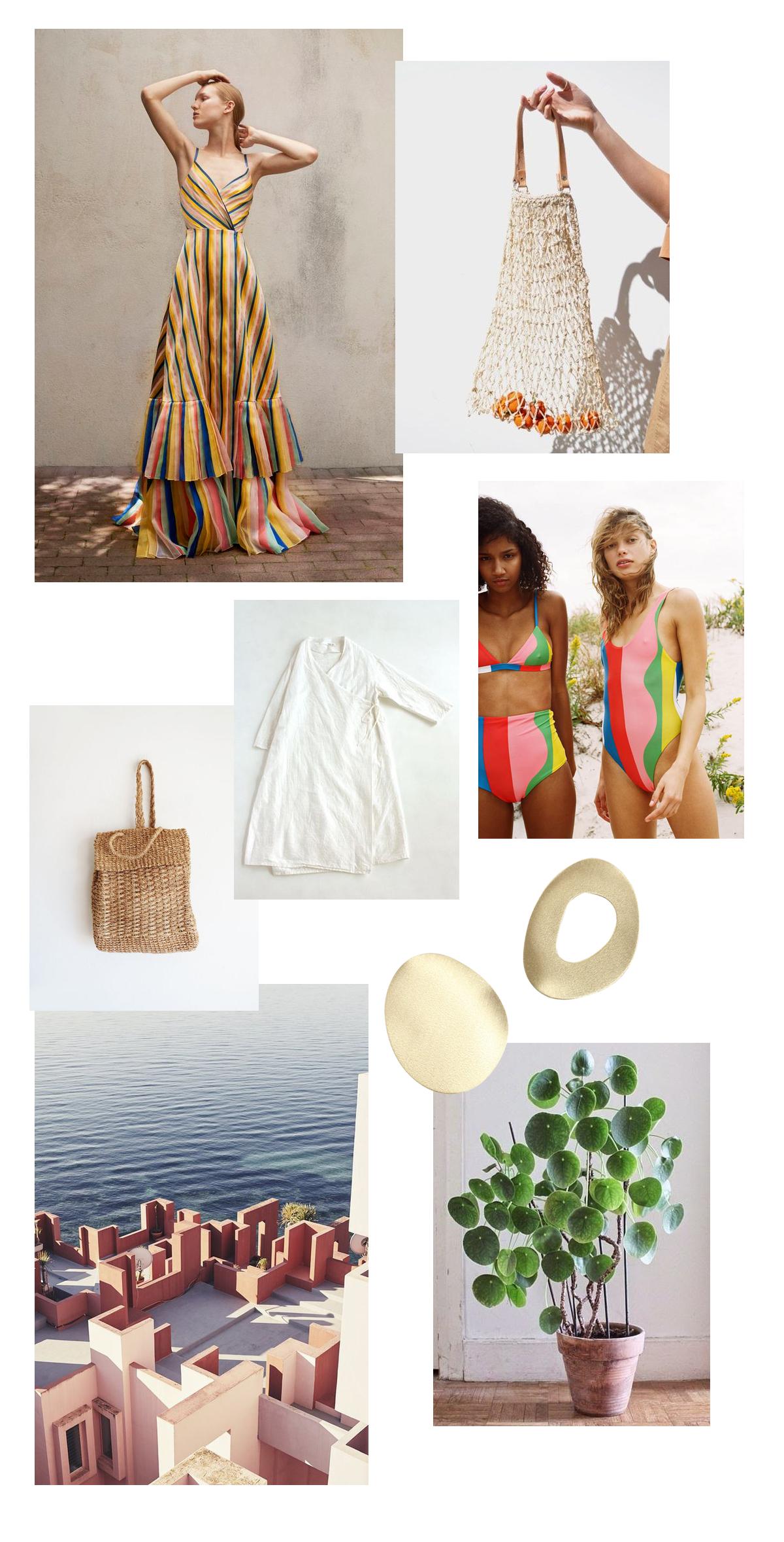 1 -   Carolina Herrera  , 2 -   Dainty Fashion  , 3 -   Barnaby Jack  , 4 -   Evam Eva  , 5 -   Mara Hoffman ,  6 -   Vogue  , 7 -   Nila ,  8 -   Littlegrennshed