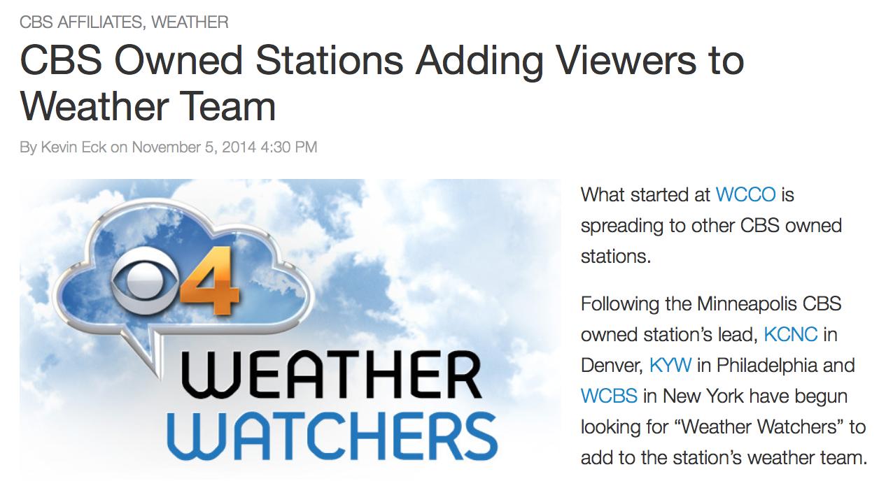 Mediabistro TVSpy,   November 6, 2014.