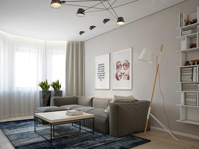Дизайн трехкомнатной квартиры с детской