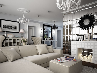 Дизайн квартиры в богемском стиле