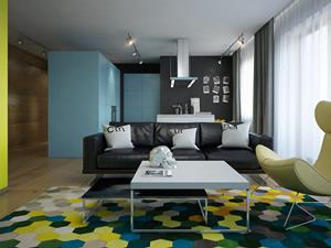 Дизайн квартиры свободной планировки
