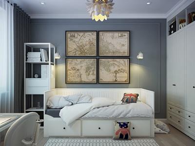 Дизайн-проект квартиры с двумя детскими