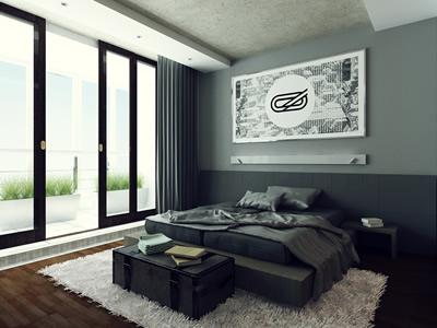Дизайн квартиры с двумя лоджиями и объединенной гостиной
