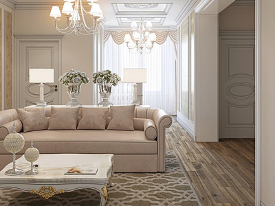 Дизайн интерьера дома в Брестской области