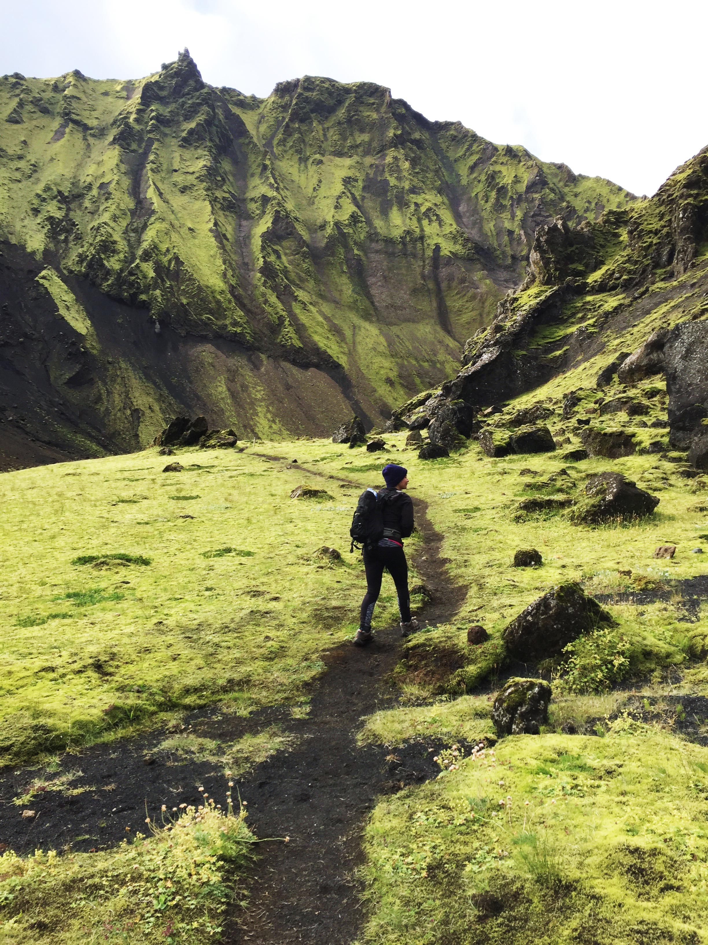 Þakgil and Remundargil Canyon