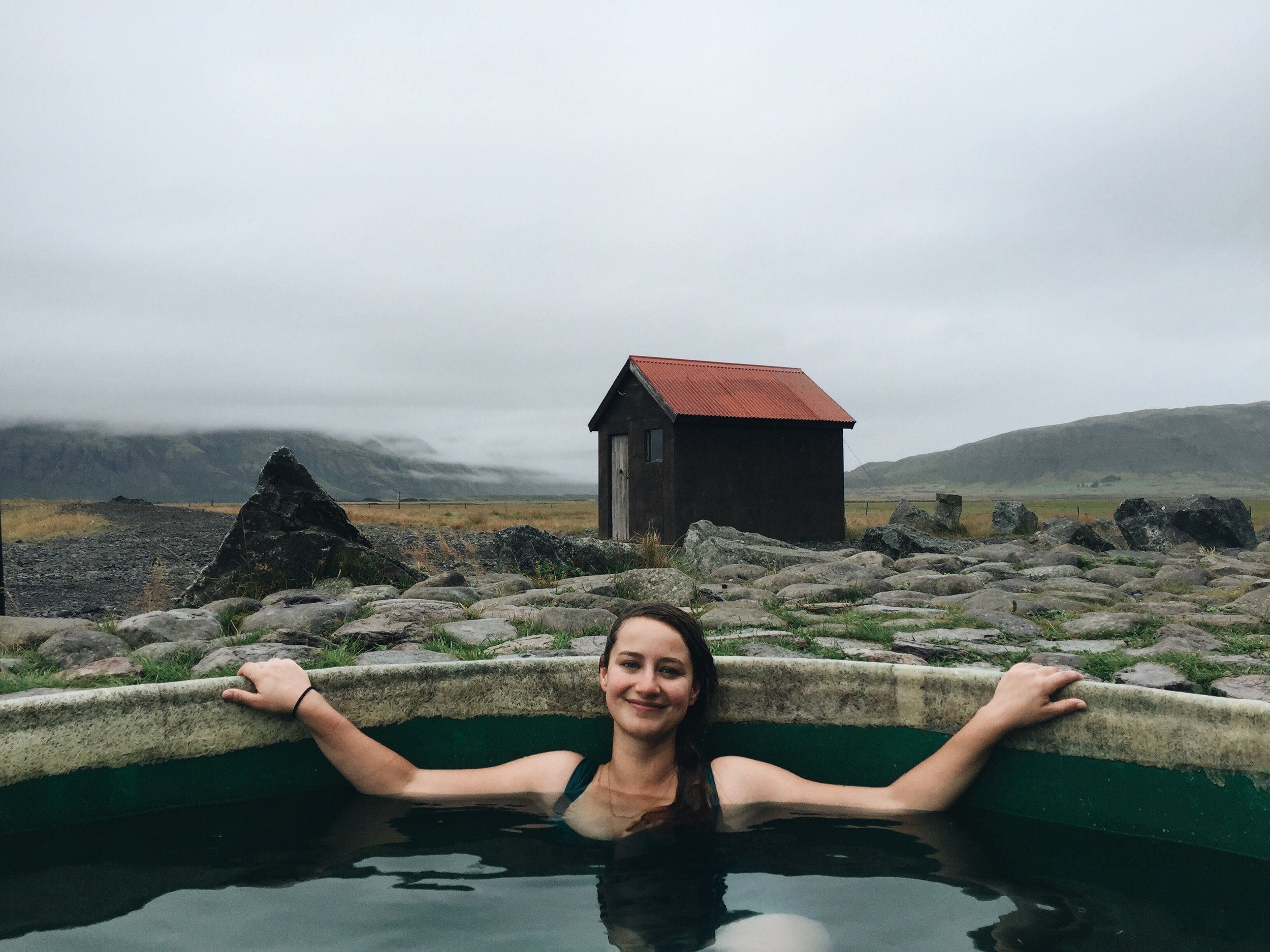 Geothermal Nature Baths at Hoffell