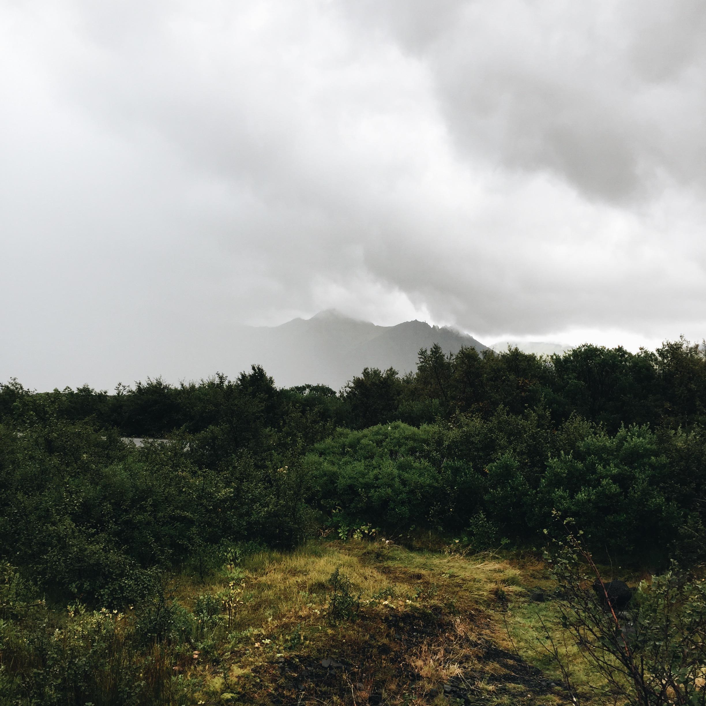 Low visibility at Vatnajökulsþjóðgarður