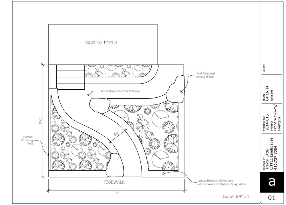 CONCEPT DRAWING BY TREVOR LITTLE The product selection changed a little during the process, but here is the origional concept we decided on.