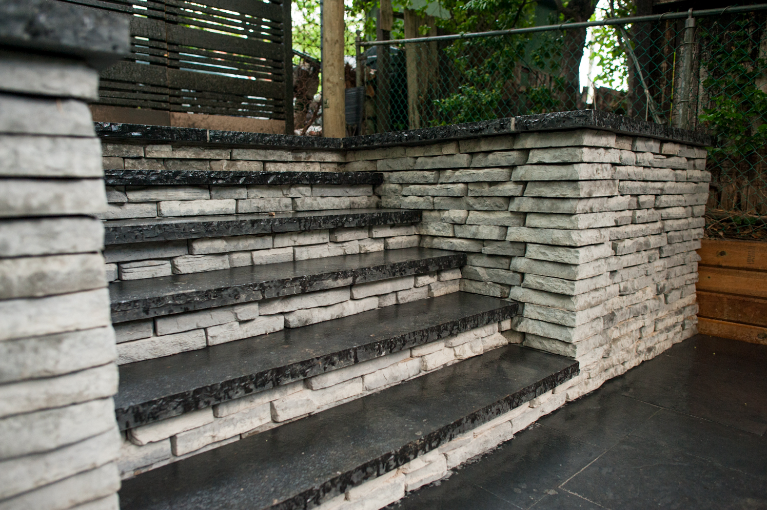 Completed Back Steps