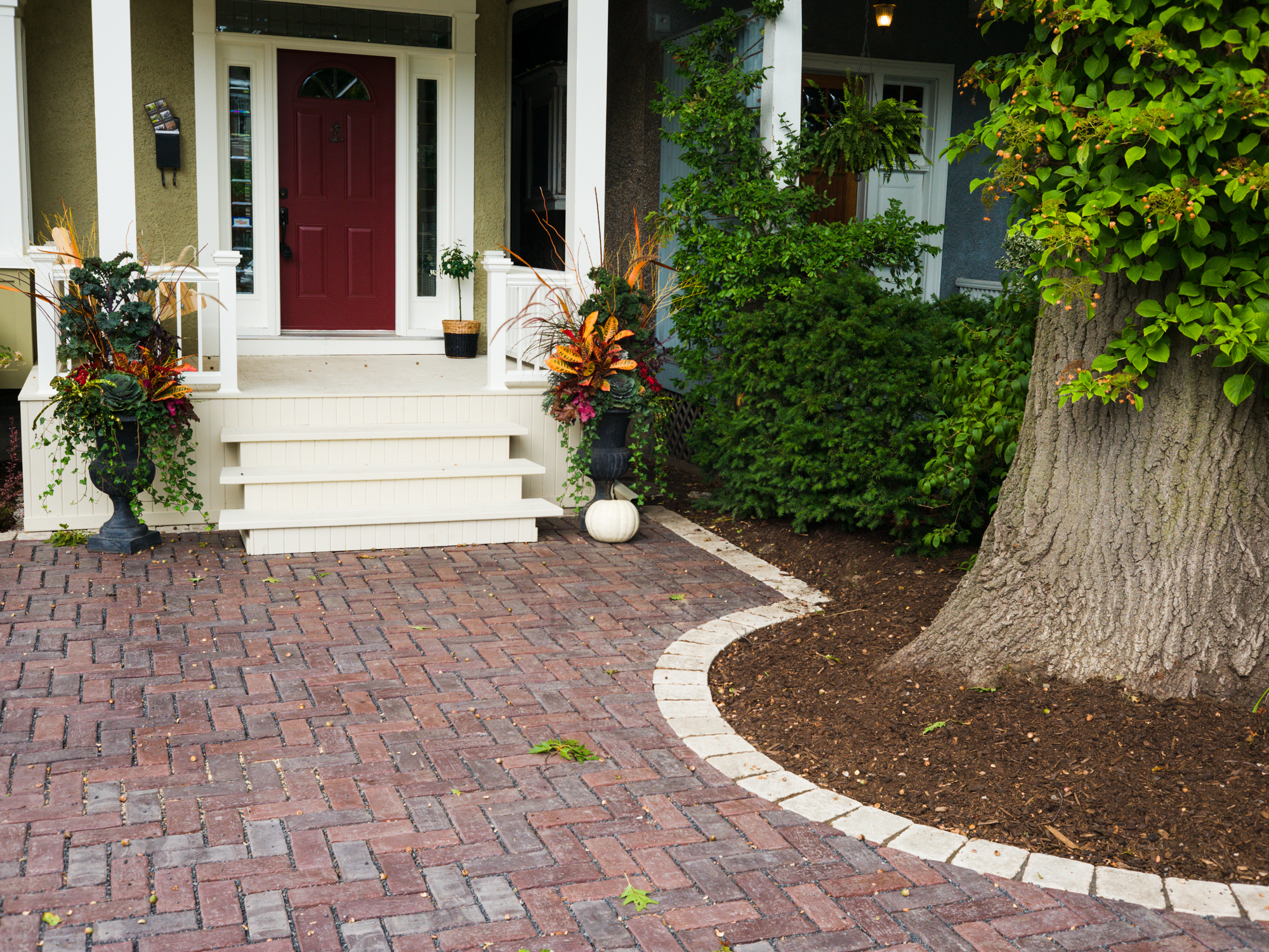 Completed Project - Front Entrance