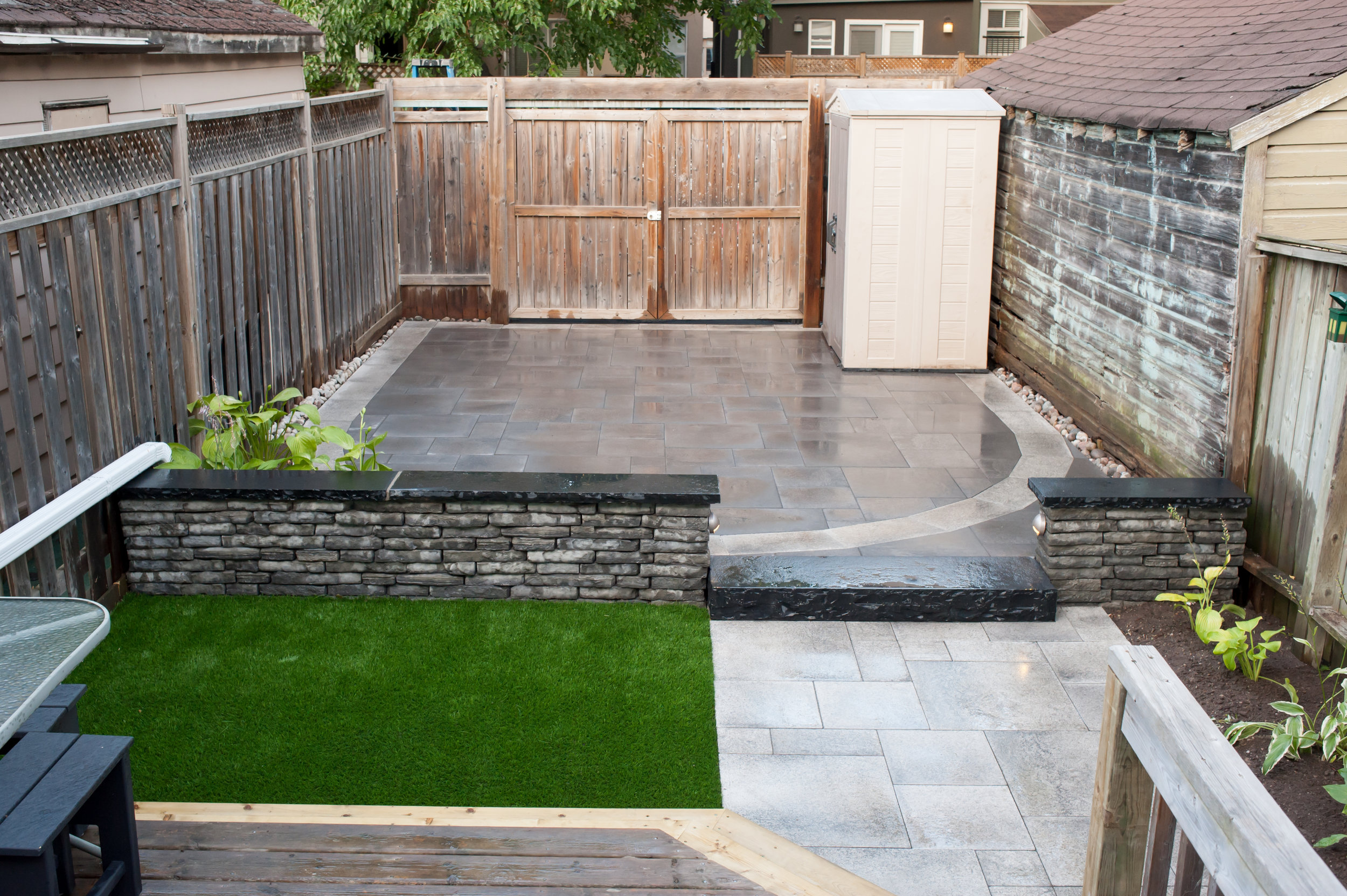 Completed Project - View Toward Back Gate