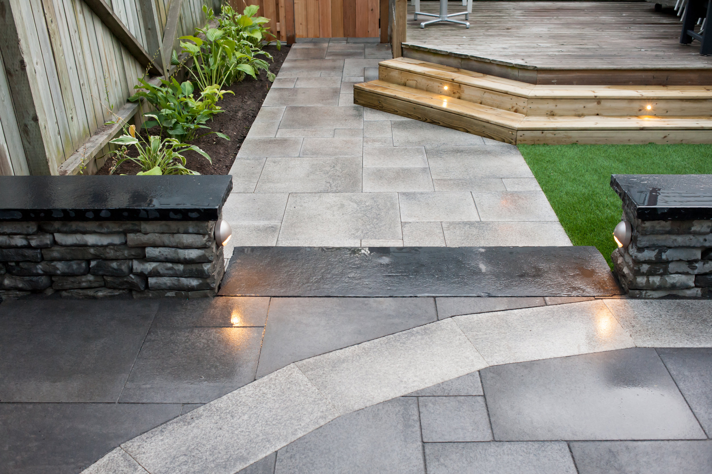 Completed Project - Backyard Detail