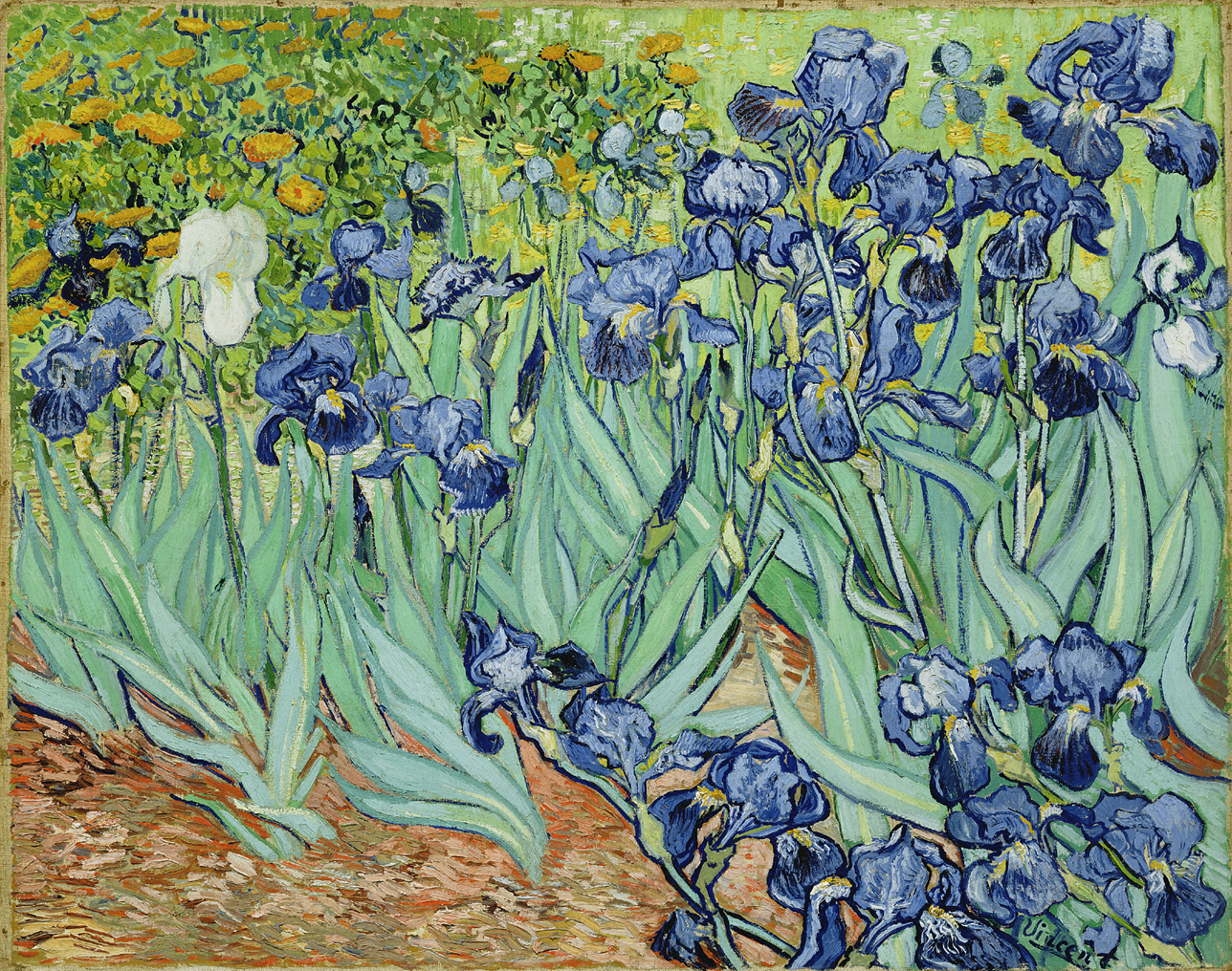 """""""   And shall not Loveliness be loved forever?   """" --    Euripides     Art by Vincent Van Gogh"""