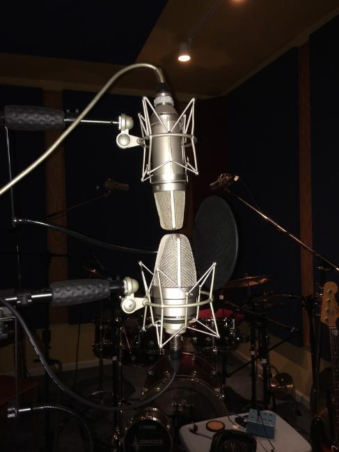 Dual Mics at Groove Tunes Studios
