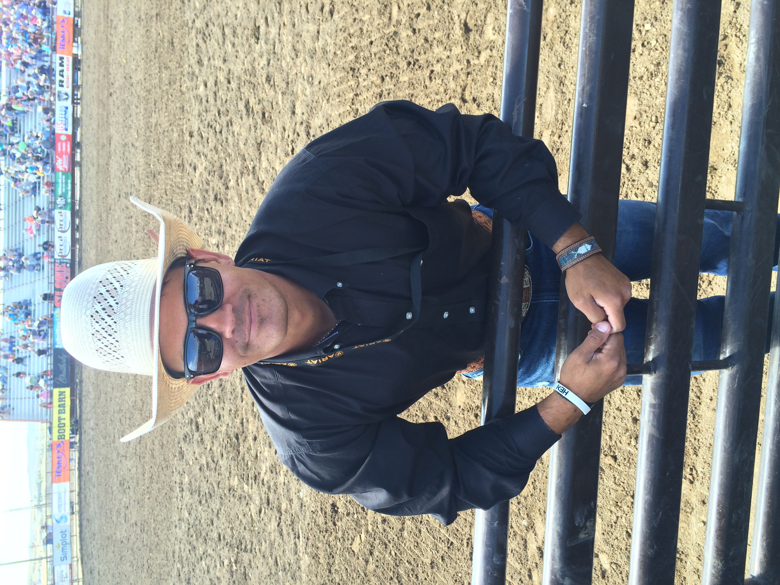 Here's a picture of our devotion leader, Judd Napier.  Check out his bullfighting page on Facebook by clicking  here.