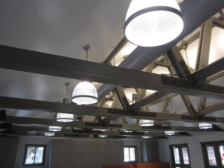 Ceiling Truss and Lighting - After 2