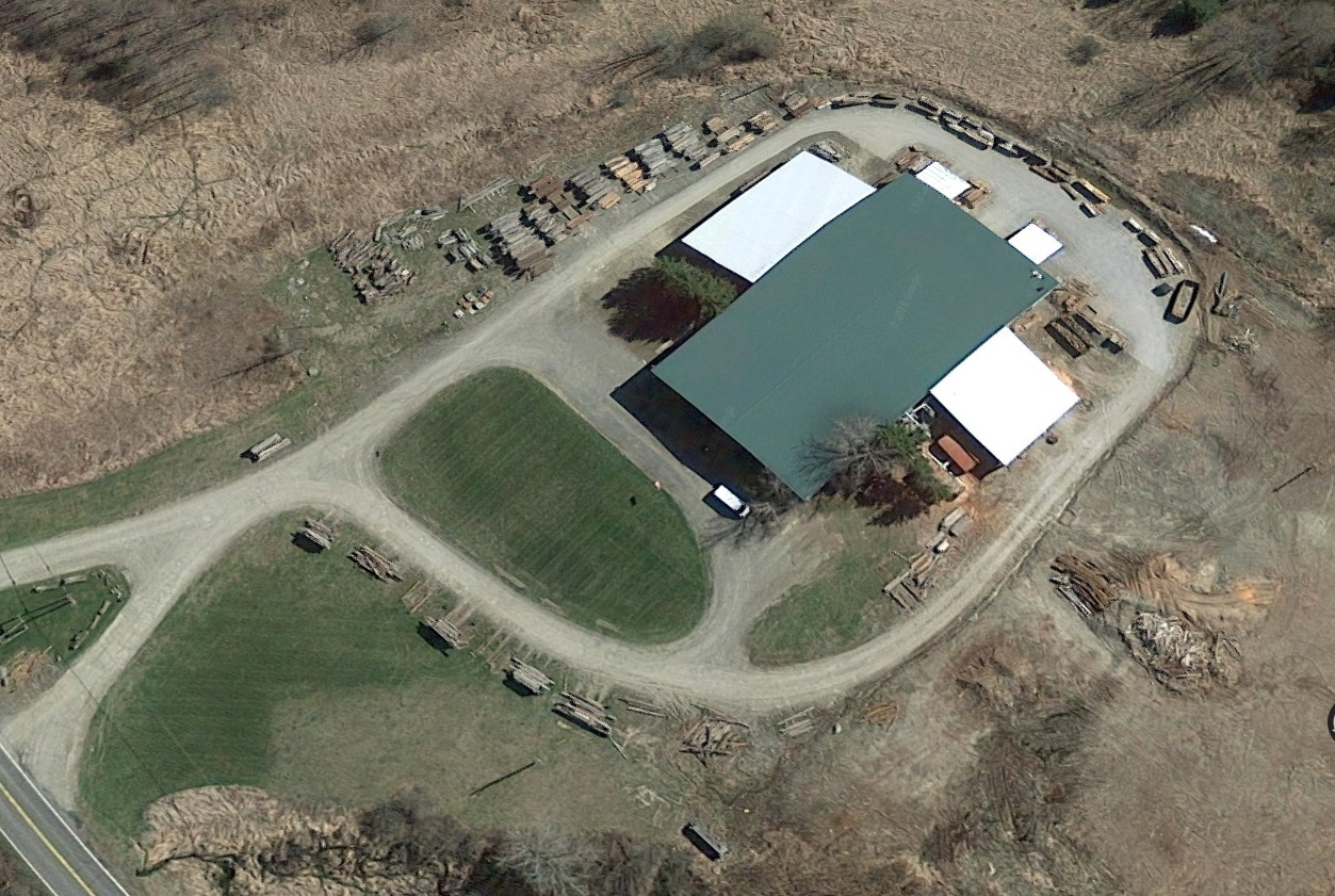Industrial Building Additions - Aerial View