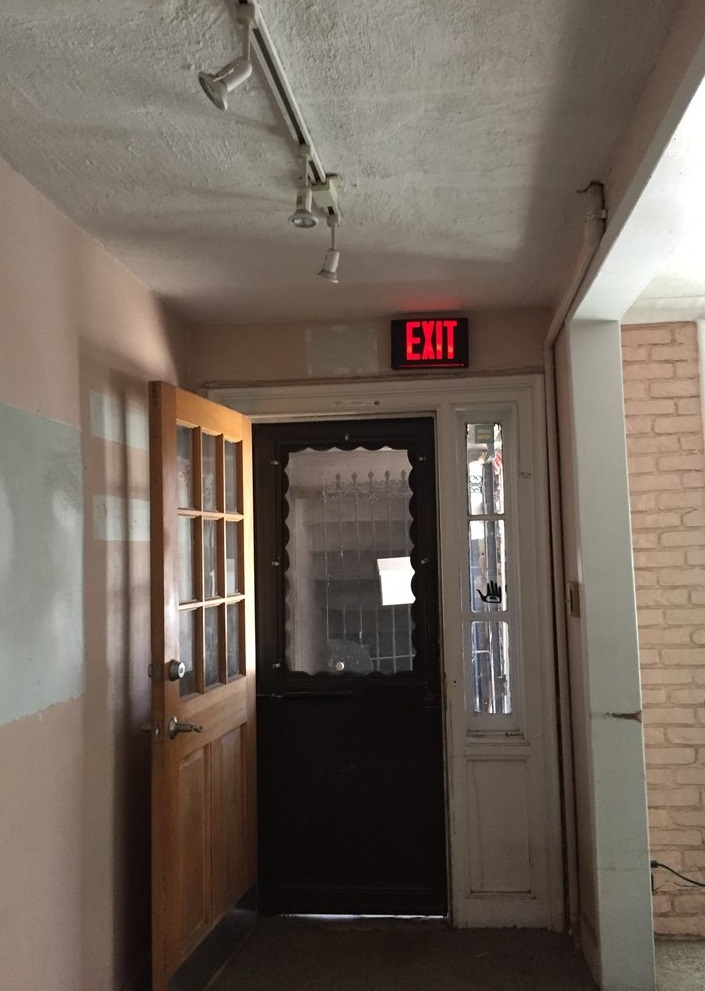 "Entrance - ""Before"" Photo"