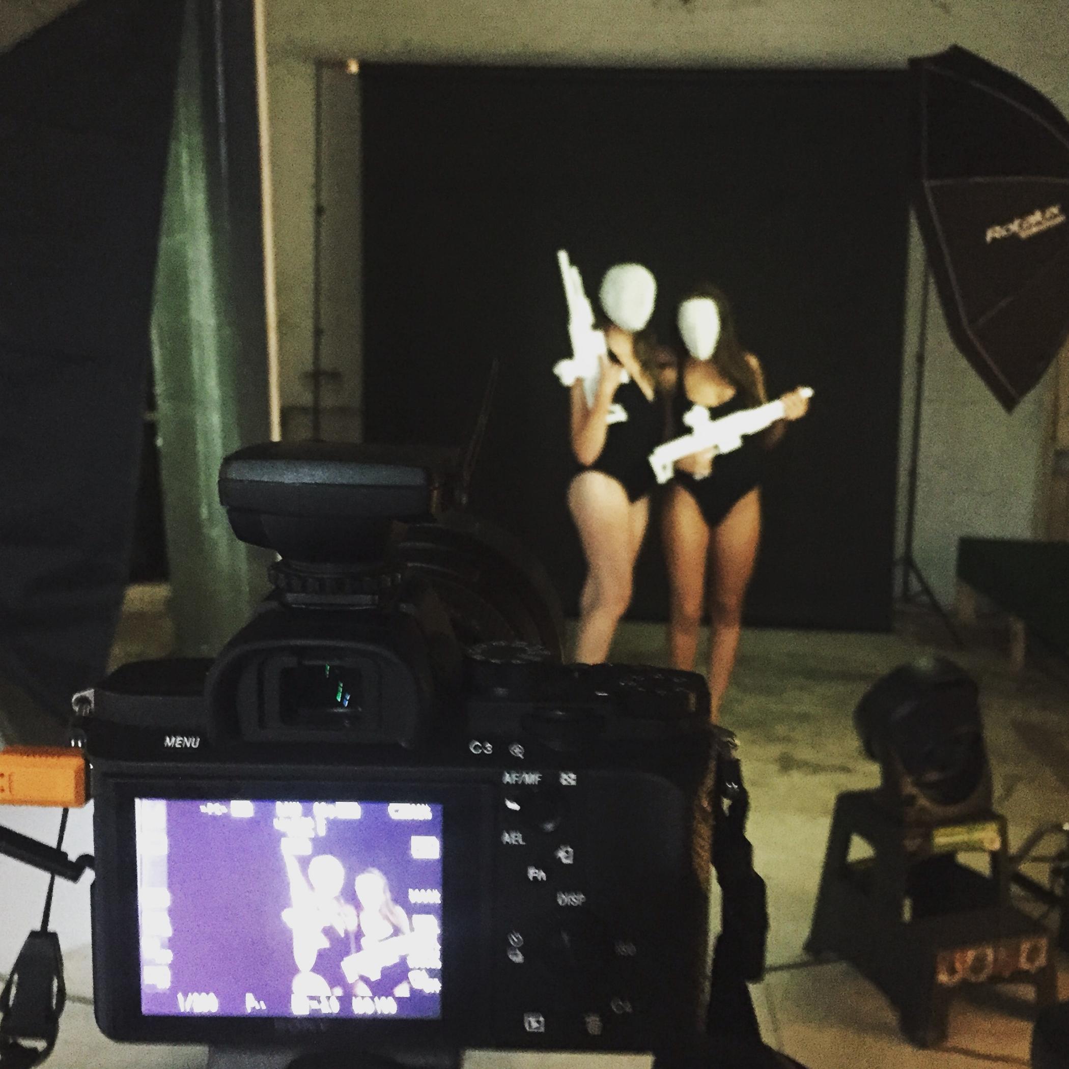 Couture Mask fun with Miranda & Mike Ryan of Brick x Birch