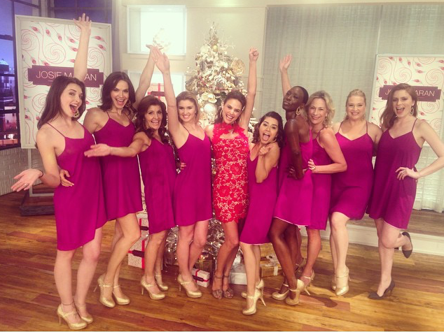 With love from the Josie Maran ladies!