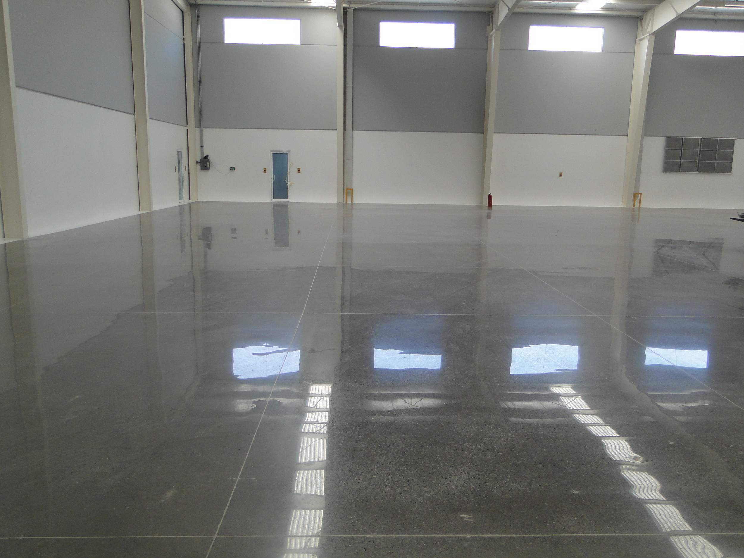 High-Quality Commercial Concrete Polishing Services