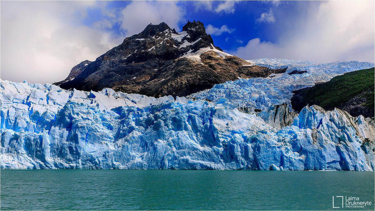 Los glaciares de Argentina por Laima Drukneryte