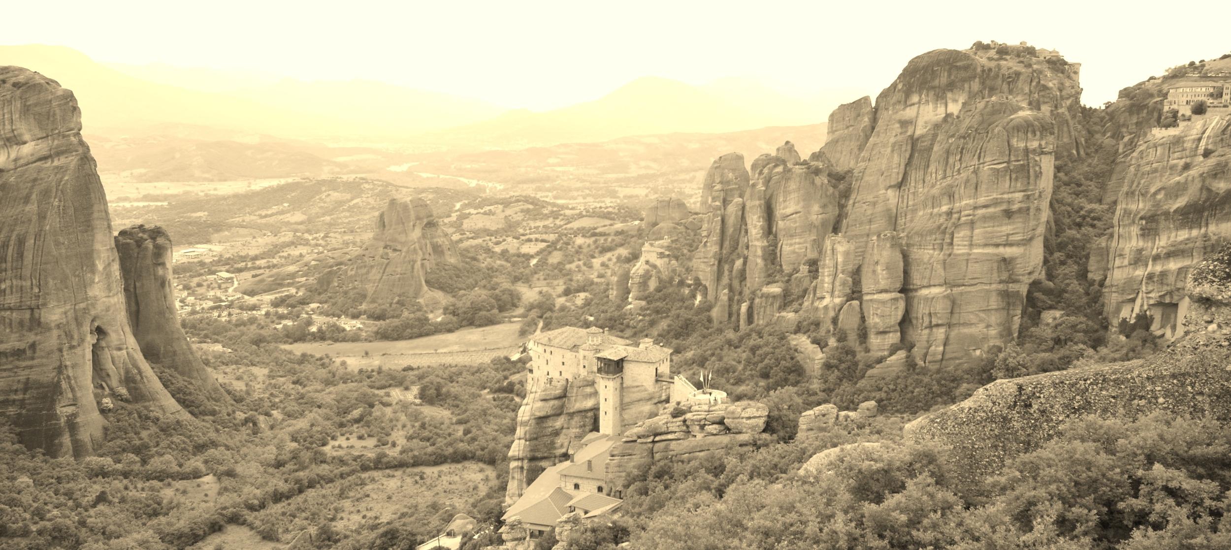 Meteora, Greece, 2009