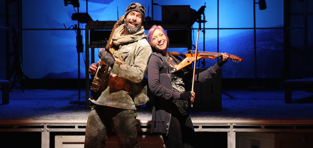Wade McCollum and Valerie Vigoda as Ernest and Kat.