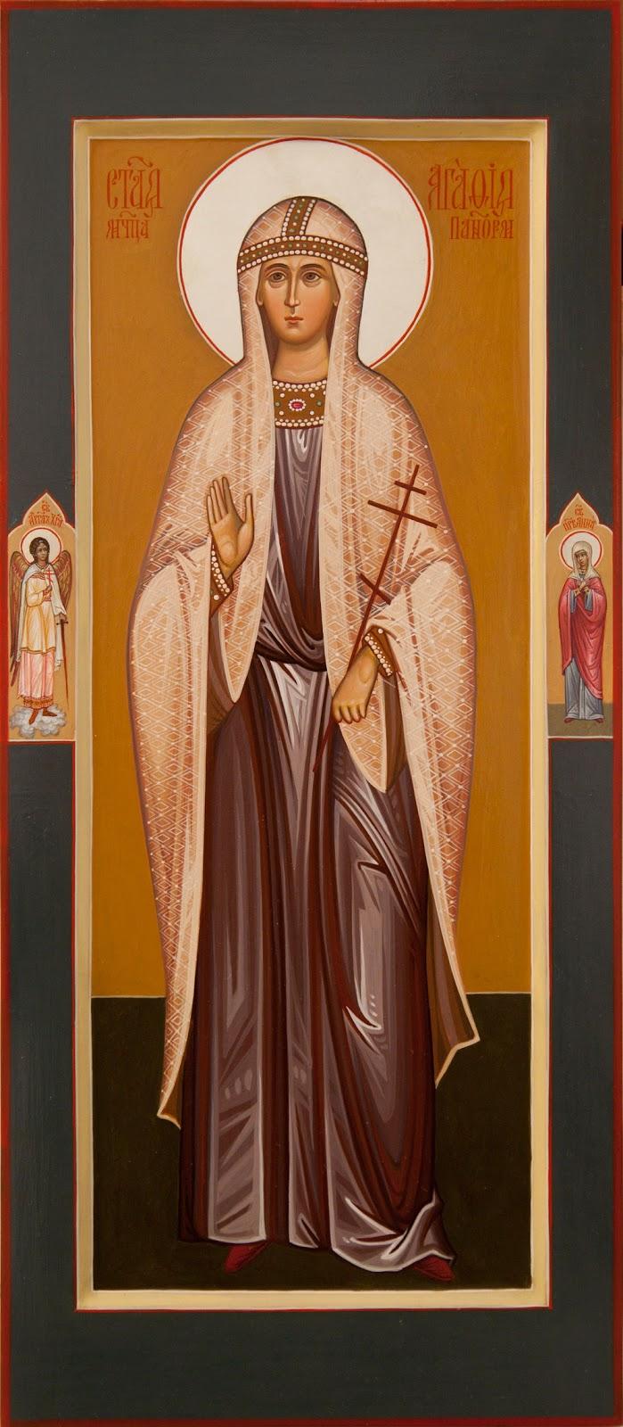 Saint Agathi of Sicily