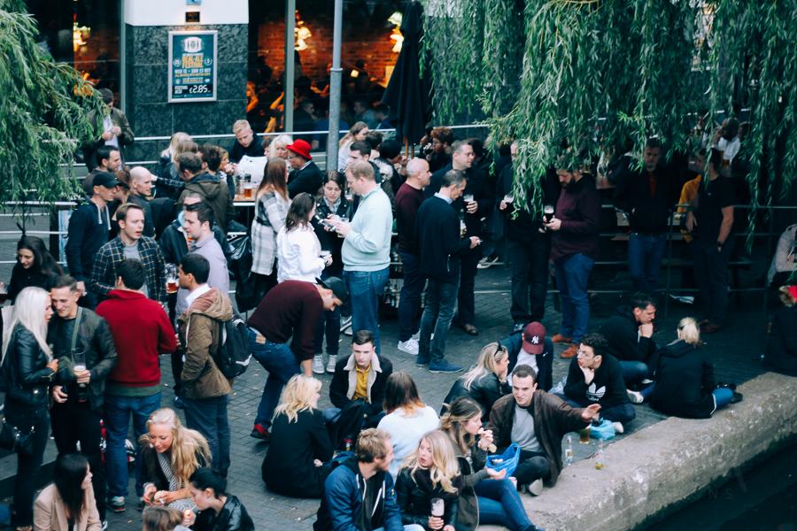 People having Beer