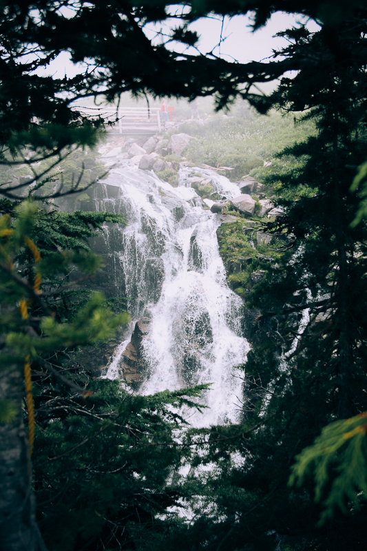 This thing about waterfalls (Mt. Rainier, USA)