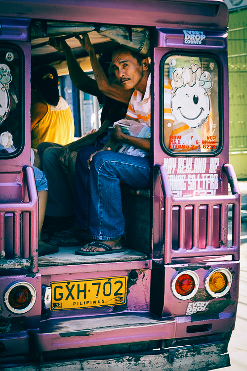 Only in the Philippines, meet the Jeepny