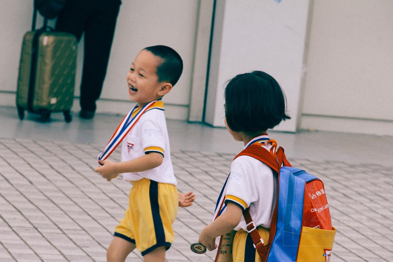 Crossing borders & school uniforms