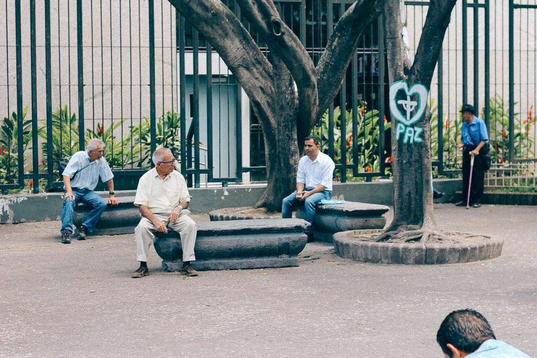 Old Men in Parks