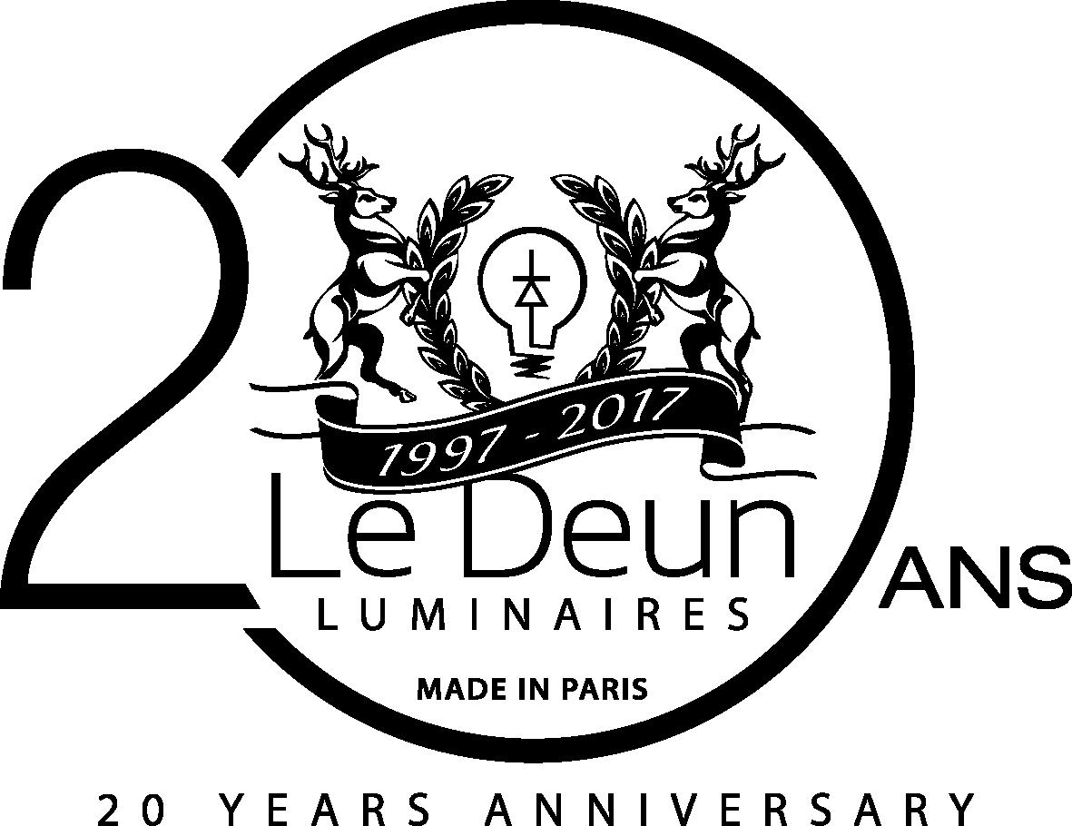 LeDeun Luminaires 20ans 20 years anniversary