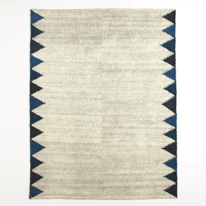 Triangle Wool ShagRug