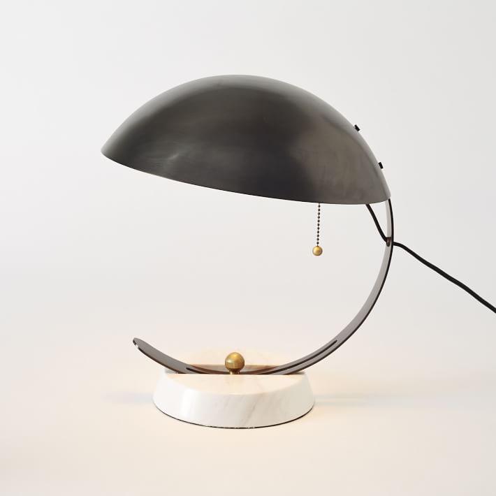 Half Moon Lamp