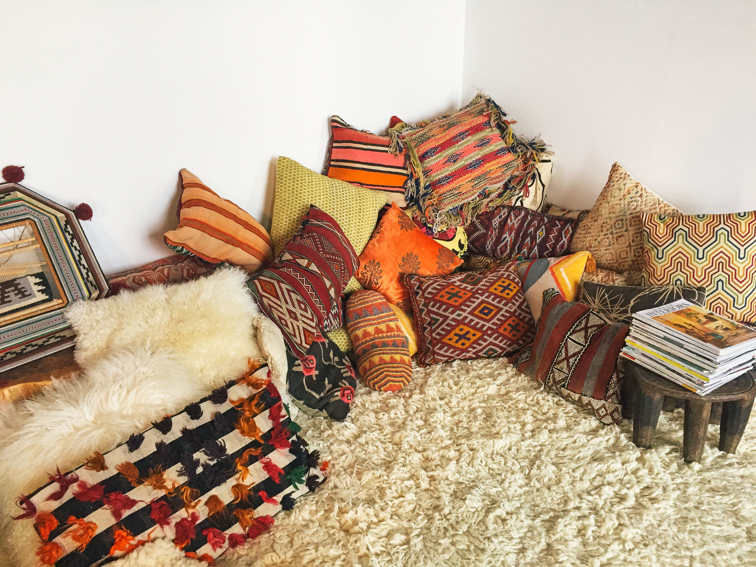 OLD BRAND NEW •KILIM PILLOW