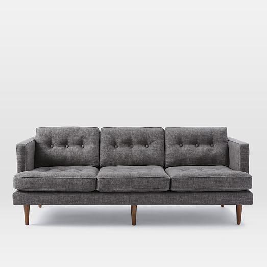 Peggy sofa • shale pebble